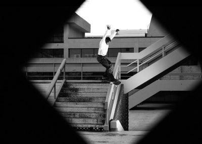 Nick Hagley, frontside feeble