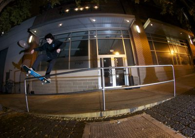 Noah Chee-How, frontside boardslide